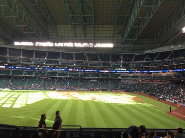 Minute Maid Park, section: 102, row: 9, seat: 1