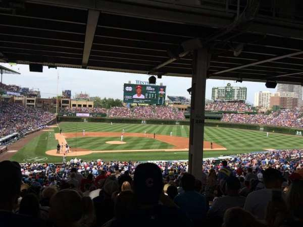 Wrigley Field, section: 221, row: 16, seat: 12