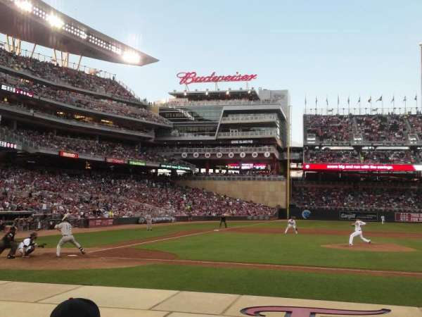 Target Field, section: 5, row: 7, seat: 11