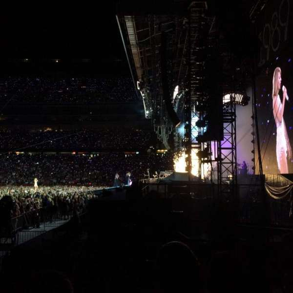 Gillette Stadium, section: 127, row: 6, seat: 10