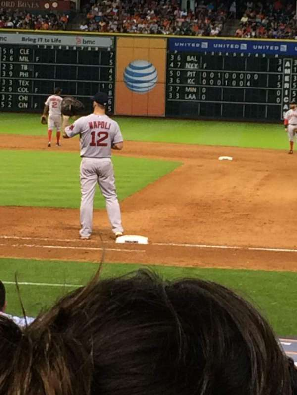Minute Maid Park, section: 127, row: 3, seat: 11