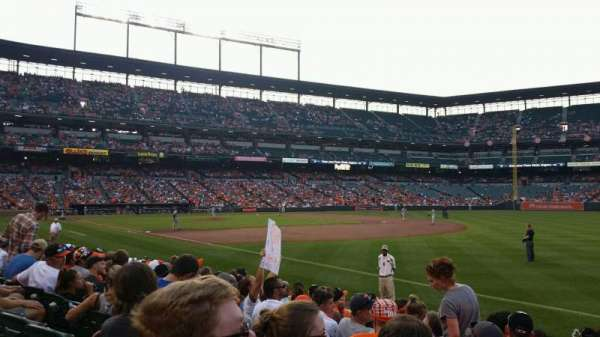 Oriole Park at Camden Yards, section: 14, row: 6, seat: 15