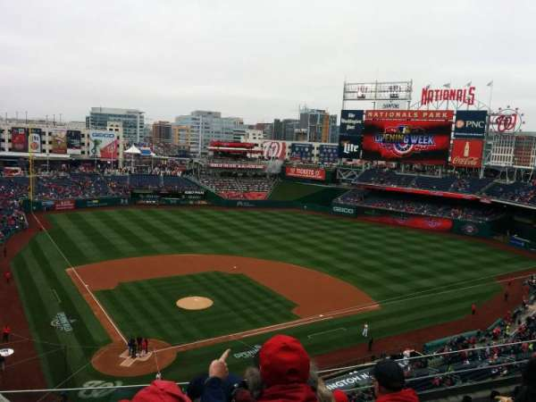 Nationals Park, section: 316, row: F, seat: 14