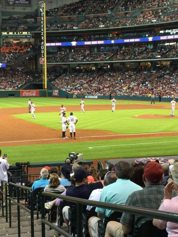 Minute Maid Park, section: 111, row: 20, seat: 17