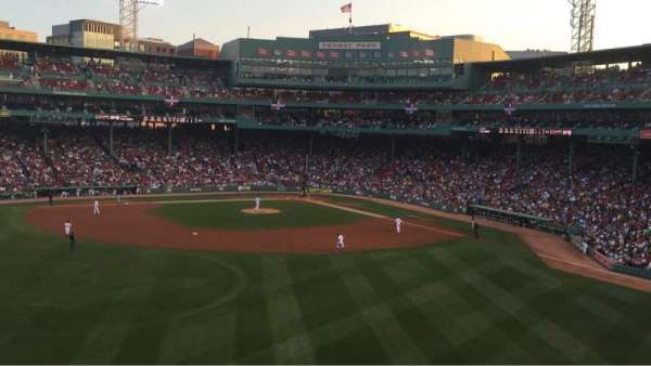 Fenway Park, section: M, row: 8, seat: 6