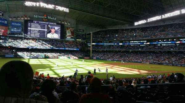 Minute Maid Park, section: 108, row: 32, seat: 7