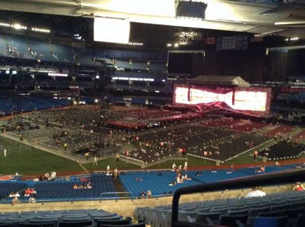 Rogers Centre, section: 218L, row: 13, seat: 101