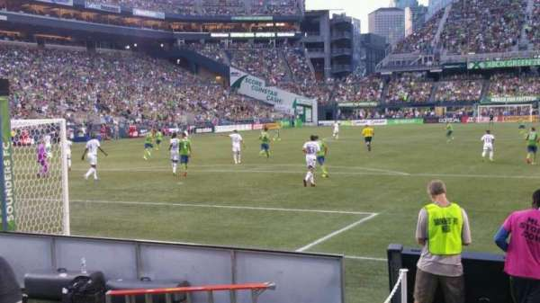 CenturyLink Field, section: 120, row: c, seat: 14
