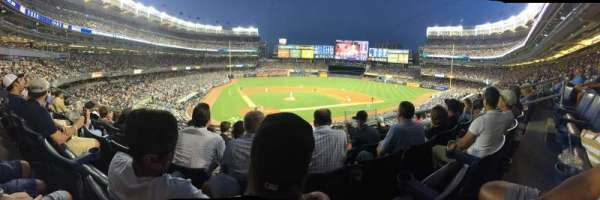Yankee Stadium, section: 218b, row: 6, seat: 6