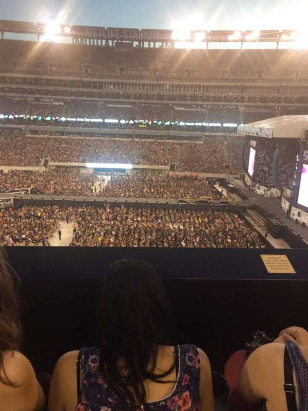 MetLife Stadium, section: 212, row: 2, seat: 16