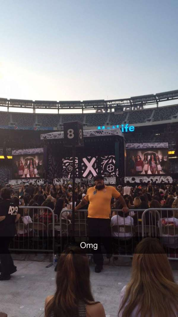 MetLife Stadium, section: 12, row: 3, seat: 5