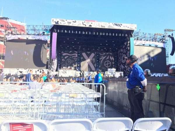 Levi's Stadium, section: 13, row: 3, seat: 3