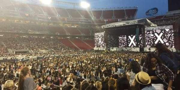 Levi's Stadium, section: C141, row: 11, seat: 14