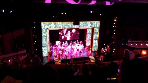 Marquis Theatre, section: Mezzanine L, row: K, seat: 9