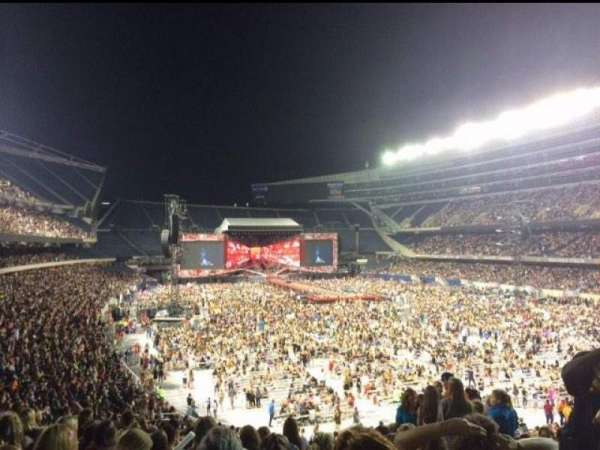Soldier Field, section: 226, row: 10