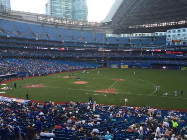 Rogers Centre, section: 217L, row: 1, seat: 101