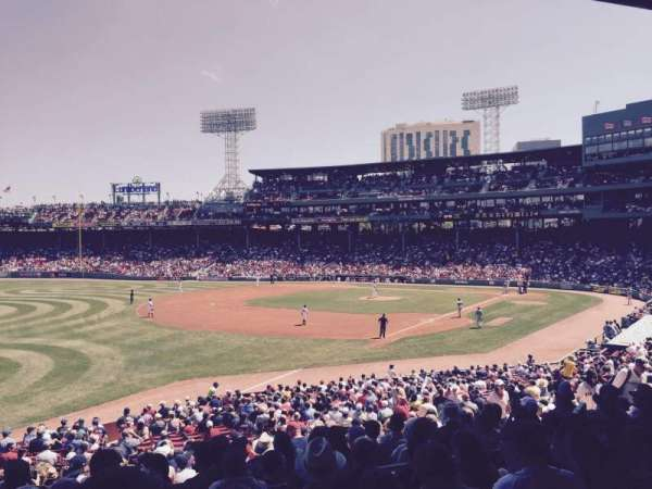 Fenway Park, section: Field Box 31, row: 6, seat: 13