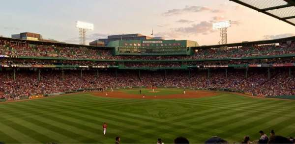 Fenway Park, section: Bleacher 35, row: 18, seat: 1