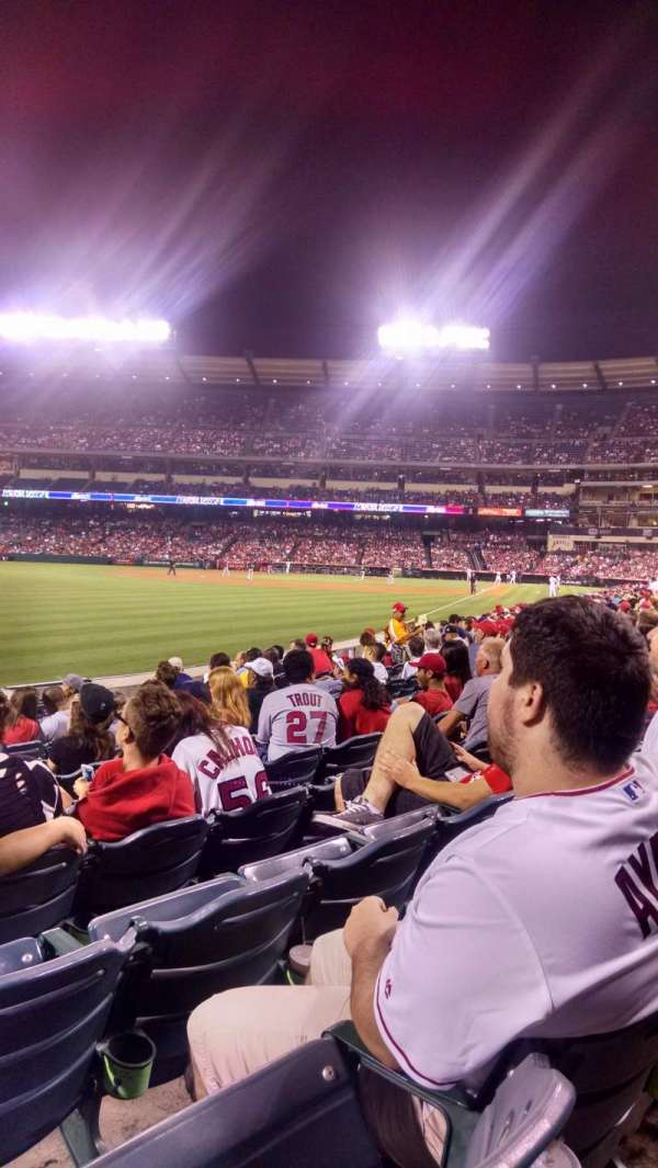 Angel Stadium, section: F103, row: J, seat: 5