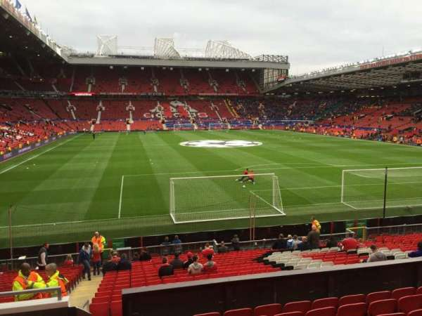 Old Trafford, section: W203, row: 9, seat: 230
