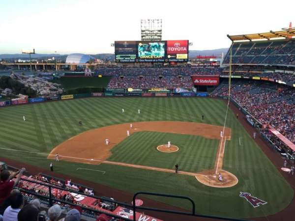 Angel Stadium, section: V415, row: F, seat: 1