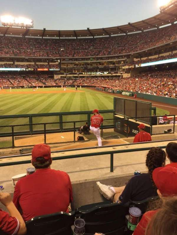 Angel Stadium, section: P258, row: F, seat: 6