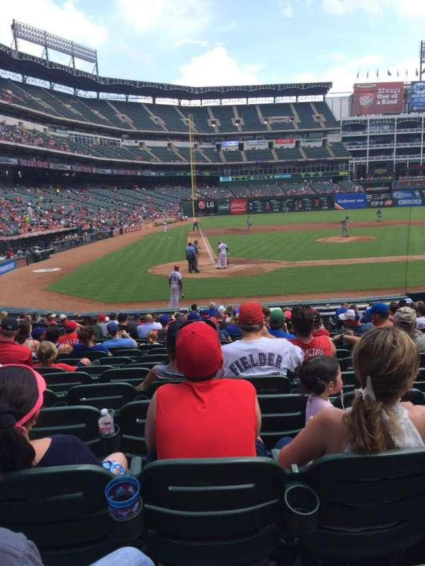 Globe Life Park in Arlington, section: 30, row: 15, seat: 8