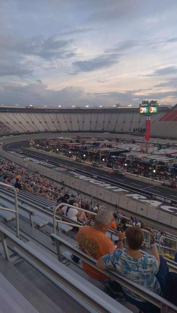 Bristol Motor Speedway, section: Pearson J, row: 51, seat: 8