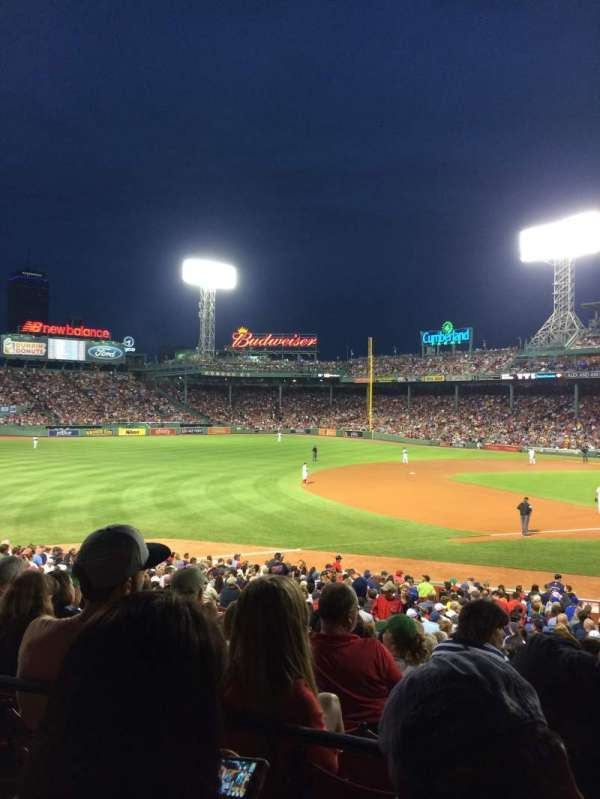 Fenway Park, section: Loge Box 158, row: PP, seat: 5
