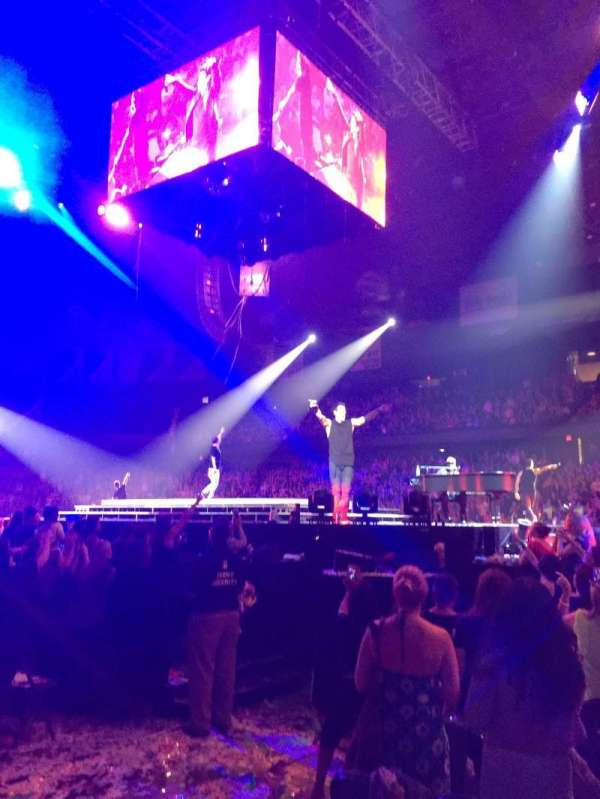 Allstate Arena, section: 110, row: AA, seat: 10
