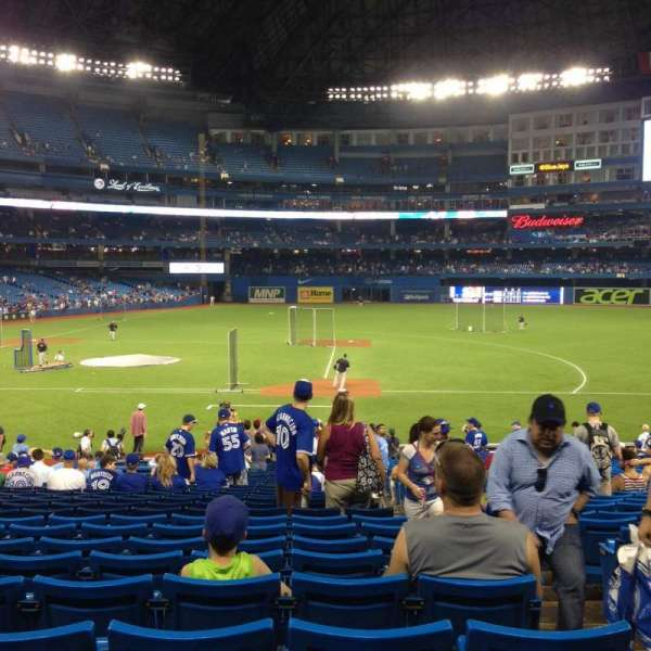 Rogers Centre, section: 116L, row: 29, seat: 102