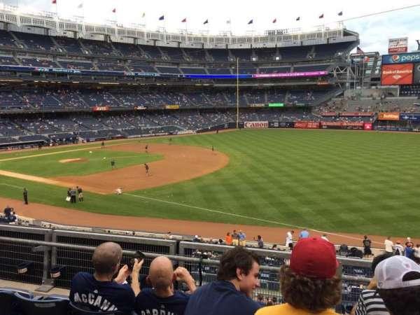 Yankee Stadium, section: 112, row: 1, seat: 9