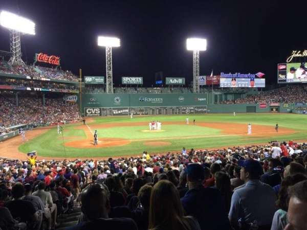 Fenway Park, section: Grandstand 17, row: 1, seat: 24
