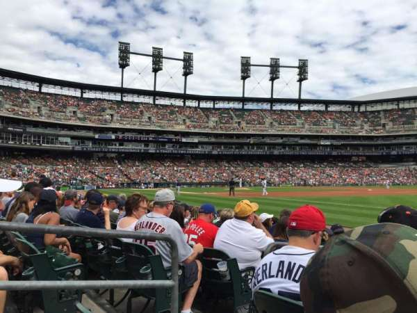 Comerica Park, section: 116, row: 8, seat: 23