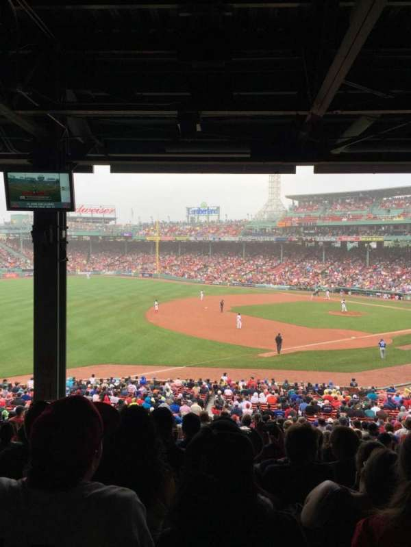 Fenway Park, section: grandstand 30, row: 13, seat: 19
