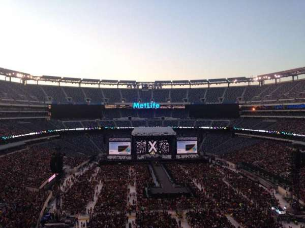 Metlife Stadium Floor Plan: MetLife Stadium, Section 227b, Row 9, Home Of New York
