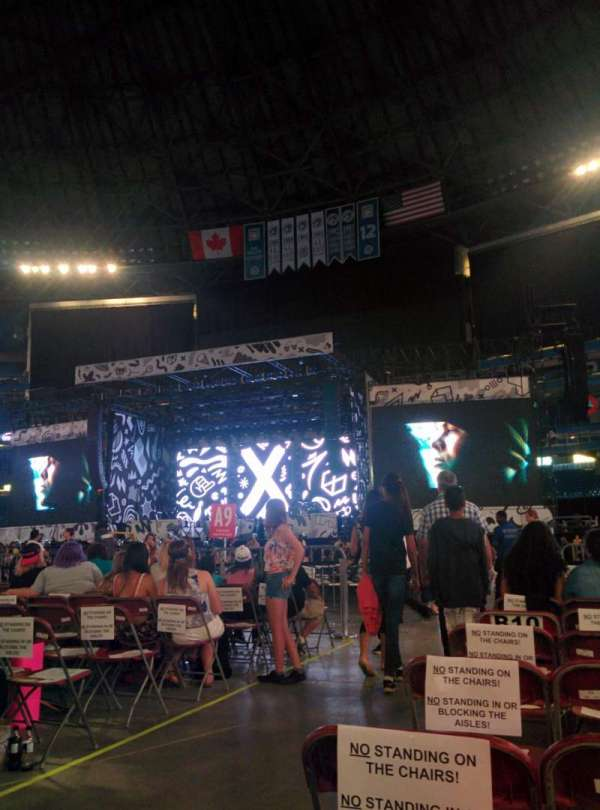 Rogers Centre, section: Floor B10, row: 10, seat: 7