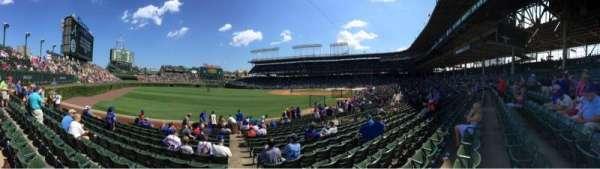 Wrigley Field, section: 103, row: 11, seat: 8