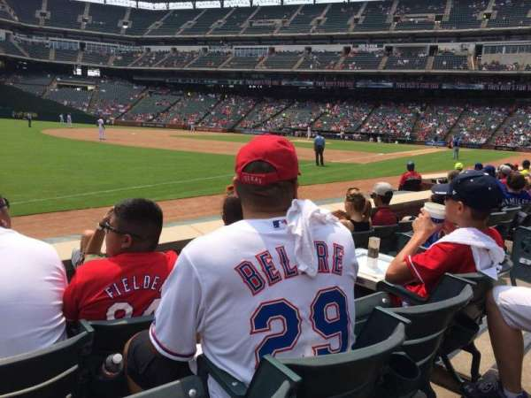 Globe Life Park in Arlington, section: 14, row: 4, seat: 16