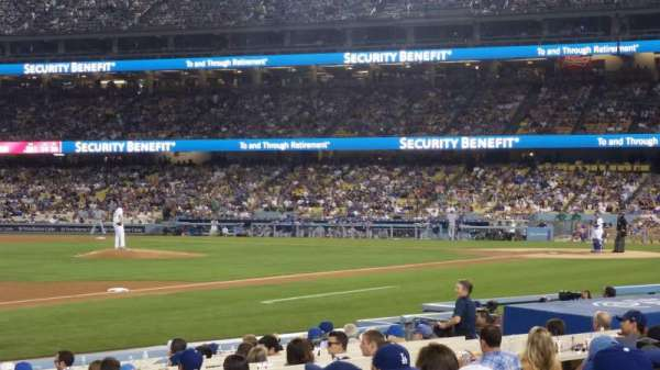 Dodger Stadium, section: 31FD, row: C, seat: 1