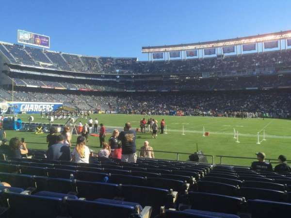 SDCCU Stadium, section: V9, row: 12, seat: 11