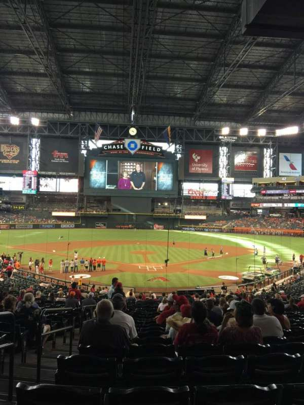 Chase Field, section: 122, row: 37, seat: 19