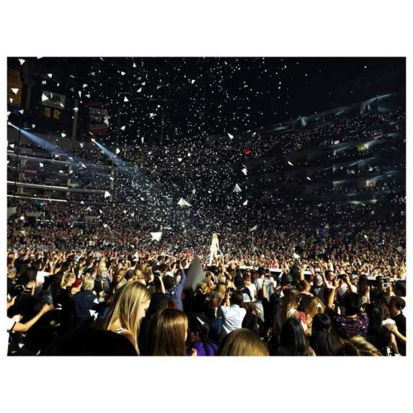 Staples Center, section: 118, row: 3, seat: 3
