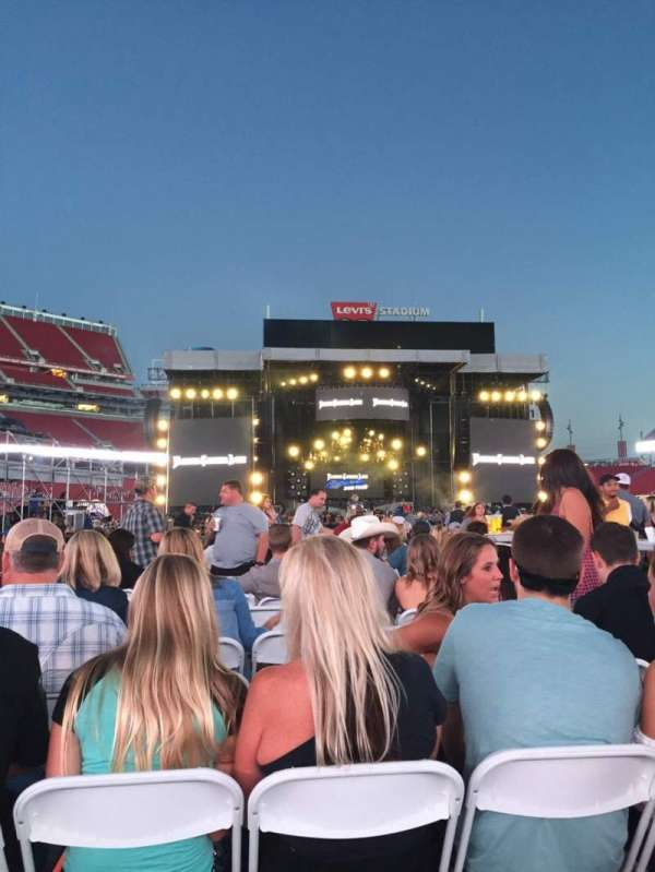 Levi's Stadium, section: 14, row: 41, seat: 8