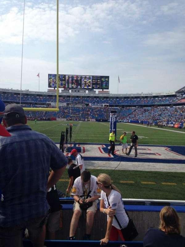 New Era Field, section: 122, row: 6, seat: 6