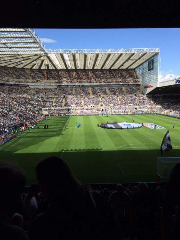 St James' Park, section: 64, row: P, seat: 99