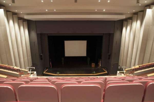 Mainstage Theatre, section: Balcony Center, row: K, seat: 107