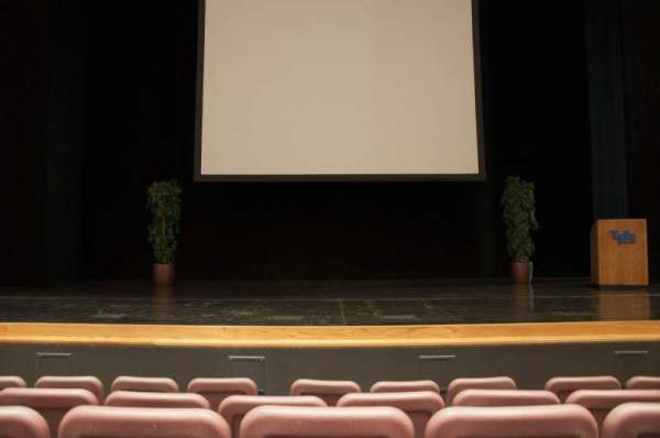 Mainstage Theatre, section: Front Orchestra - Center, row: E, seat: 107
