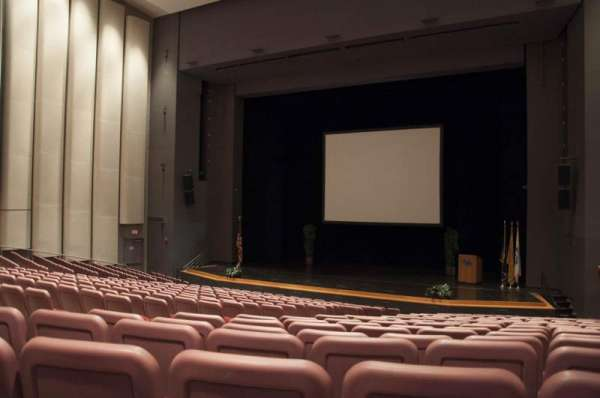 Mainstage Theatre, section: Front Orchestra - Right, row: T, seat: 14