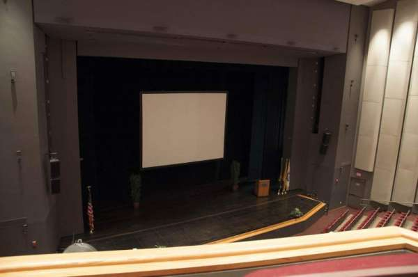Mainstage Theatre, section: Loge - Left, row: BB, seat: 5